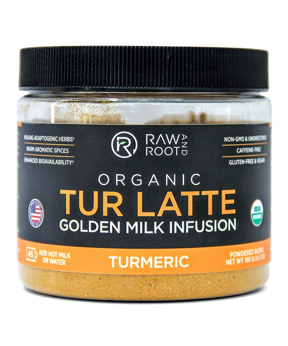 Take A Look At This Organic Tur Latte Golden Milk Infusion