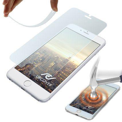 Original Urcover® Flexible Echt Glas Folie für iPhone 6 Plus / 6s Plus Displayschutzfolie [Deutsche MARKEN Panzerfolie] die iPhone 6 + Schutzfolie [9H Härtegrad] 3D Touch 7,90€