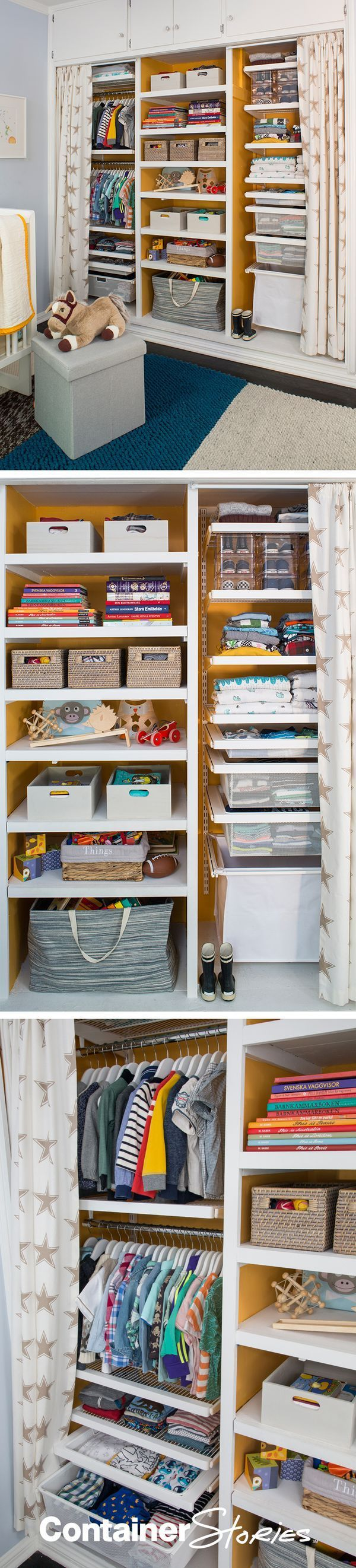 Superb See Our Elfa Closet Fit For Baby Finn! On Container Stories Now.