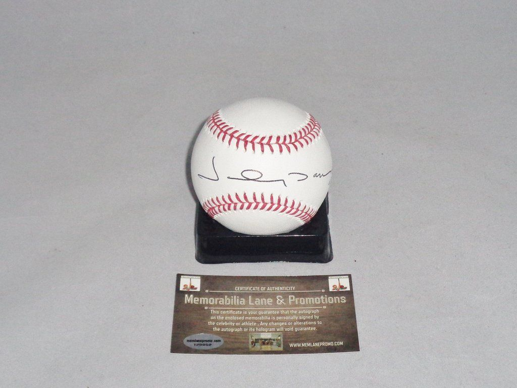045415b4397 Johnny Damon autograph baseball YANKEES RED SOX COA Memorabilia Lane    Promotions