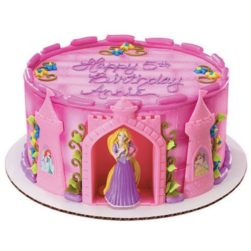 Rapunzel and Castle Disney Princess Cake Decorating Kit Topper