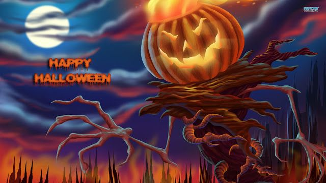 #45+ Happy Halloween GIF Images HD Pictures Wallpapers For Google Plus,  Facebook U0026