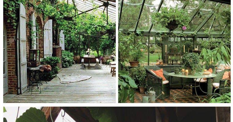Pour rester dans l'ambiance végétale de la précédente sélection, je vous propose de faire un tour dans le jardin d'hiver .      Cette pièce...