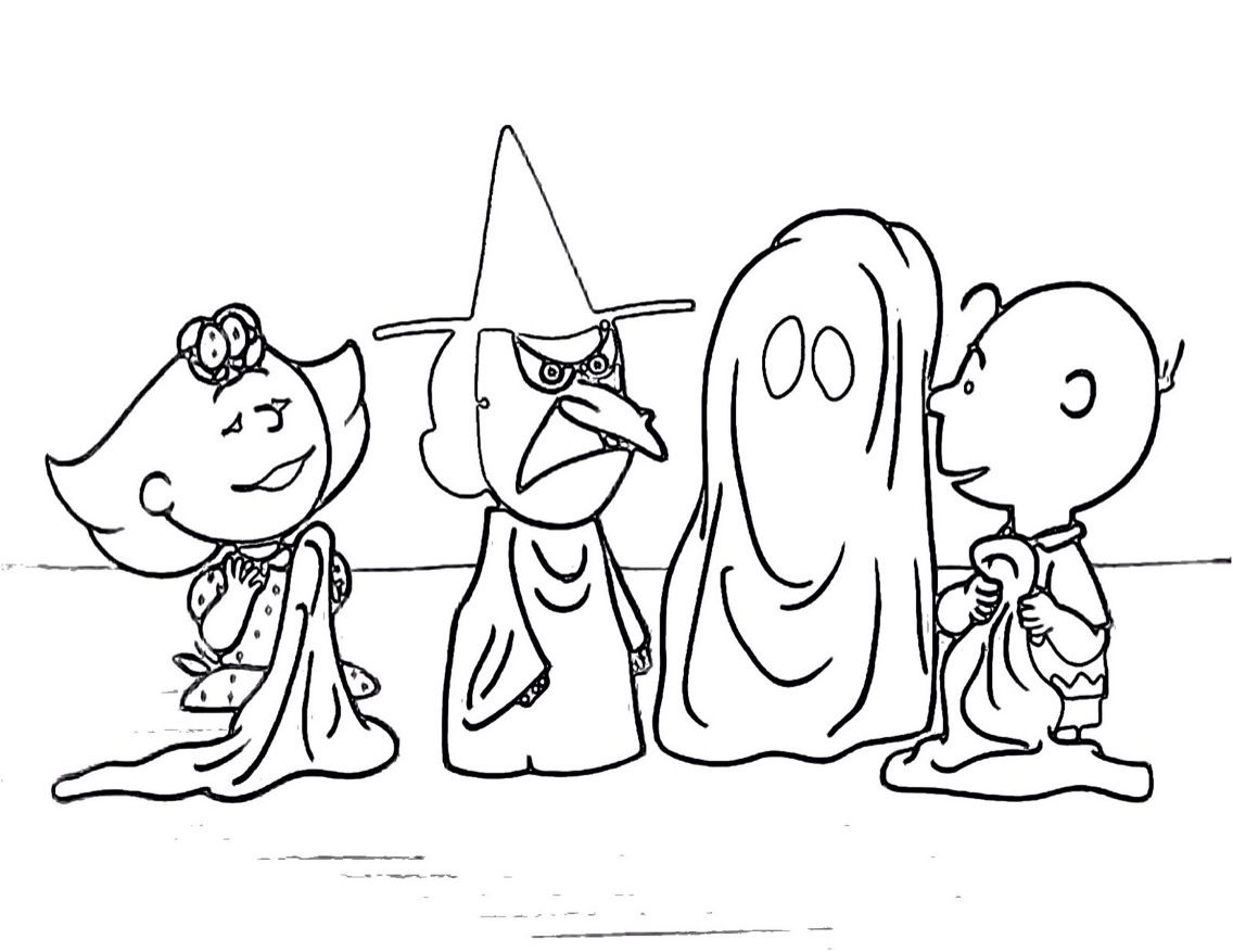 Charlie Brown coloring page | Halloween/St Patrick\'s Printable\'s For ...