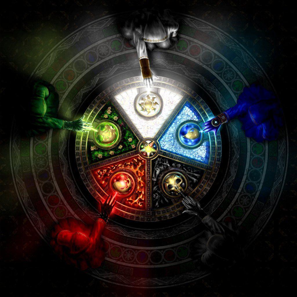 Magic The Gathering Farben