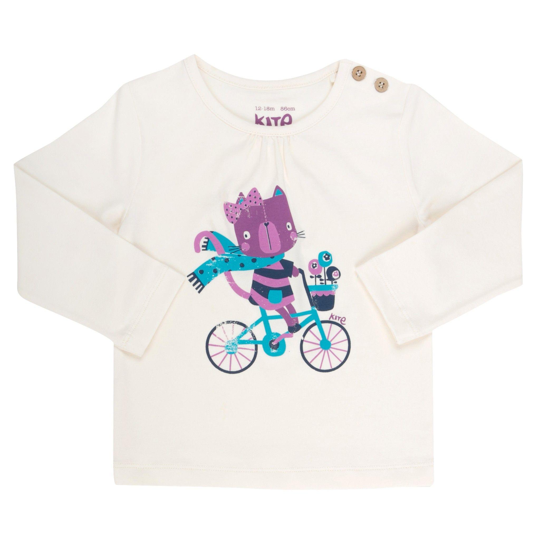 Pretty Kitty T shirt Baby Girl Tops Girls Little Chickie