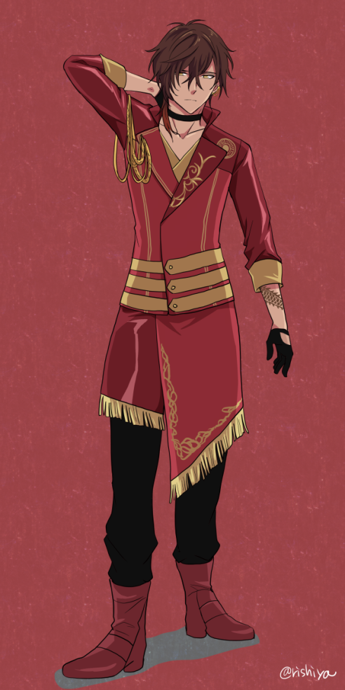 Toukenranbu Anime Characters Male Concept Art Characters Anime Outfits