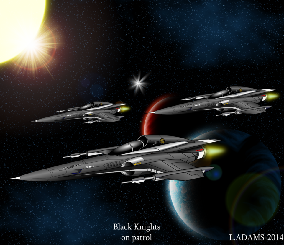 BLACK KNIGHTS SQUADRON/ -S.D.Y- OF-750 Ocelot by capriceklasik