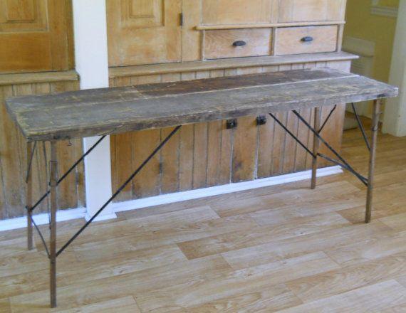 Wallpaper Table Vintage Folding Table Primitive Antique - Wallpaper Table Vintage Folding Table Primitive Antique Folding