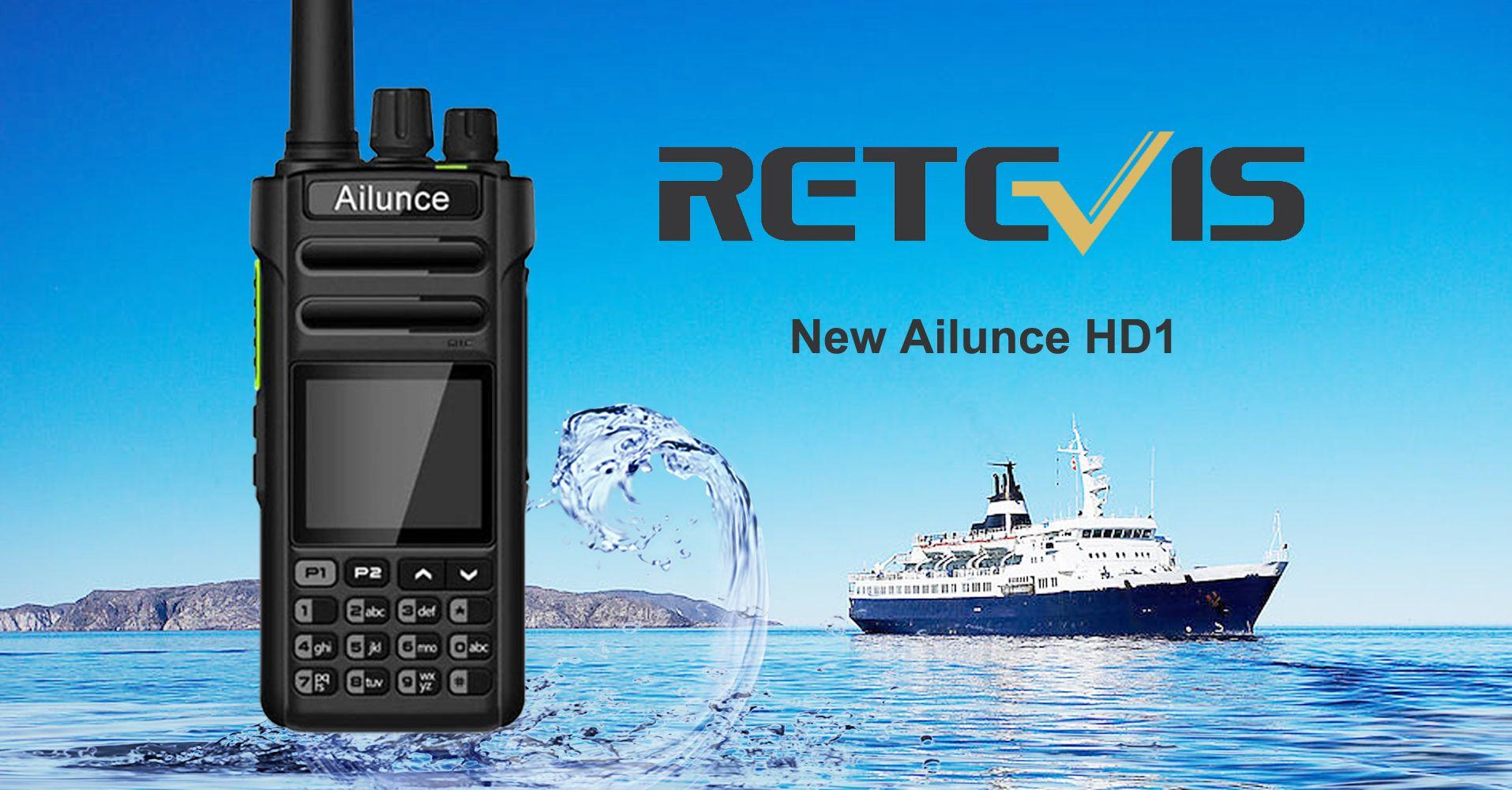 New Information of Retevis Ailunce HD1 Digital Mobile Radio | Radios