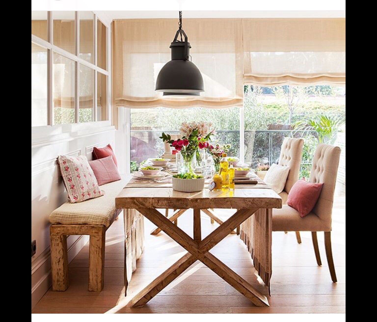 Breakfast Nook Pillows