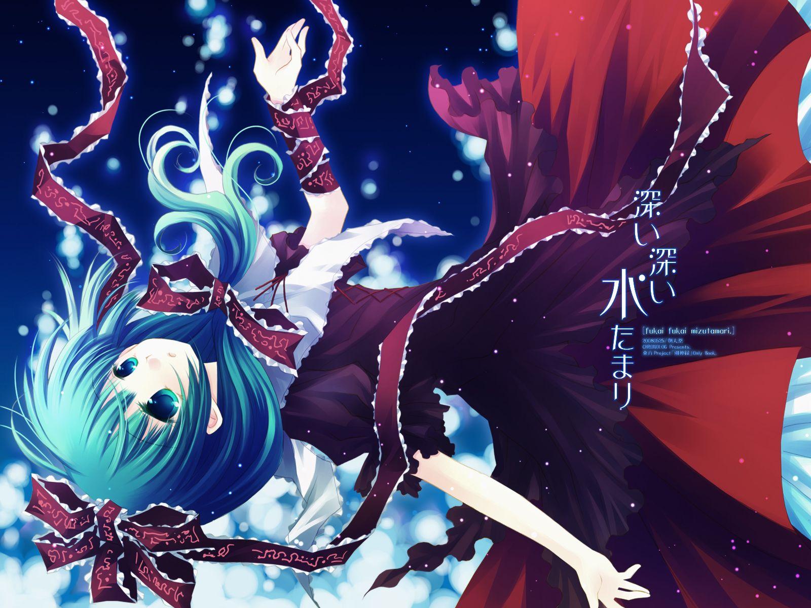 Touhou Anime, Manga girl, Hd ipad wallpapers
