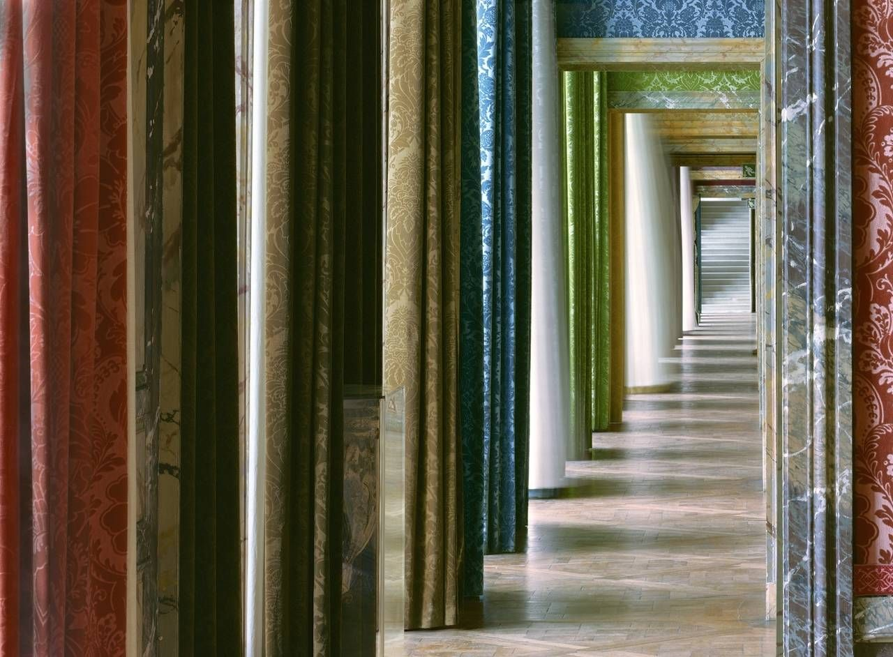 Enfilade #2, Salles du XVII, AIle du Nord, Versailles | From a unique collection of photography at https://www.1stdibs.com/art/photography/photography/