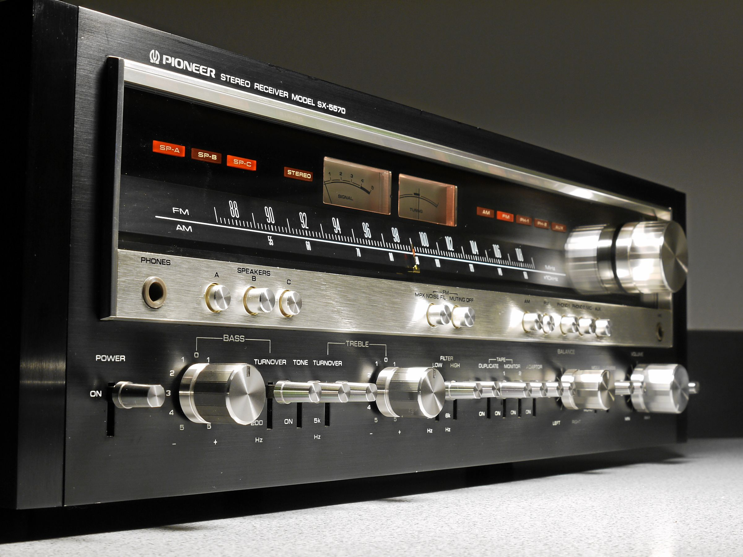 All Sizes Pioneer Sx 5570 Stereo Receiver Flickr Photo Sharing Noise Filter For System