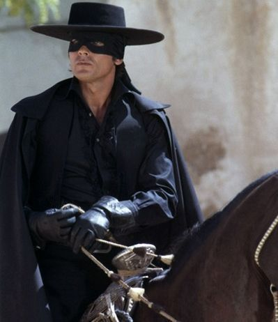 Here's to being free la la la la la la Zorro's back .... Here's to you and me la la la la la la Zorro's back! = LOVED THIS MOVIE - 1975 version with Alain Delon of course!