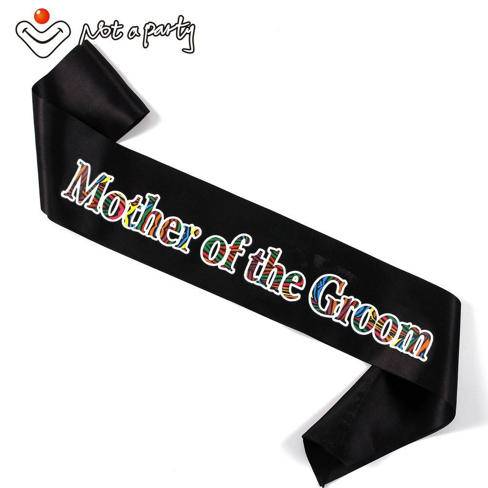 for 3pcs Mother of the bride sash bridesmaid mother of the groom hen ...
