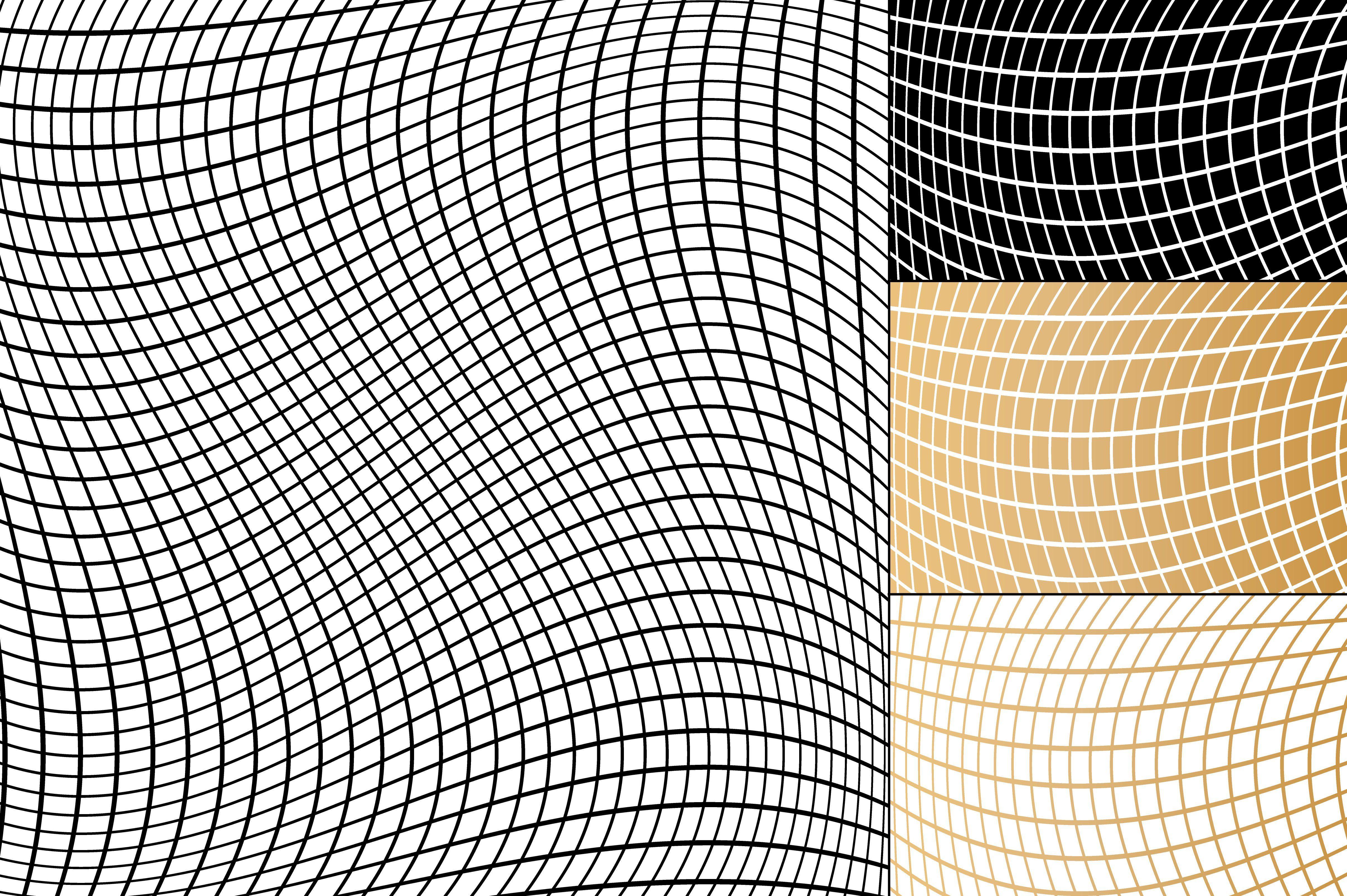 Seamless Metallic Fishnet Patterns Pattern Paper Design Geometric Pattern