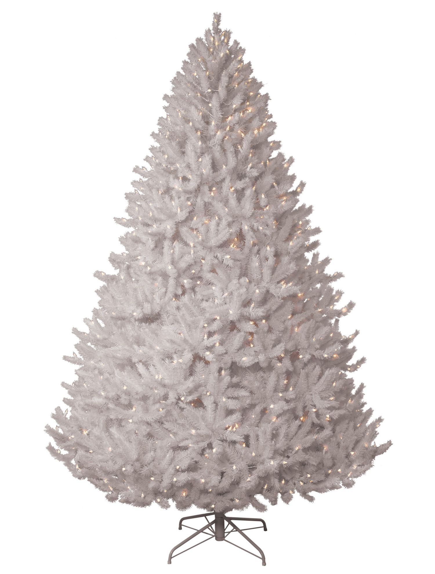 Pikes Peak White Artificial Christmas Trees Online Balsam Hill