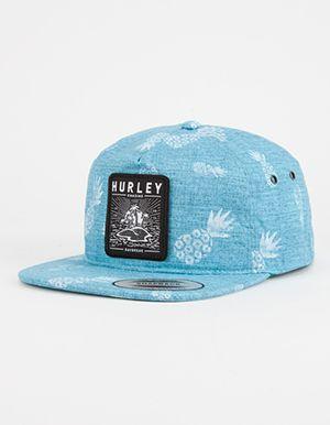 new style 7d0d1 26b8e HURLEY Beach Cruiser Mens Snapback Hat Turquoise