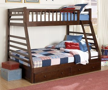 Starship Kids Furniture Collection Leon S Kids Bunk Beds Twin Full Bunk Bed Bunk Beds