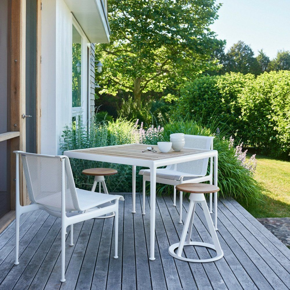 Richard Schultz 1966 Dining Chair Armless Haus Garten Terrasse