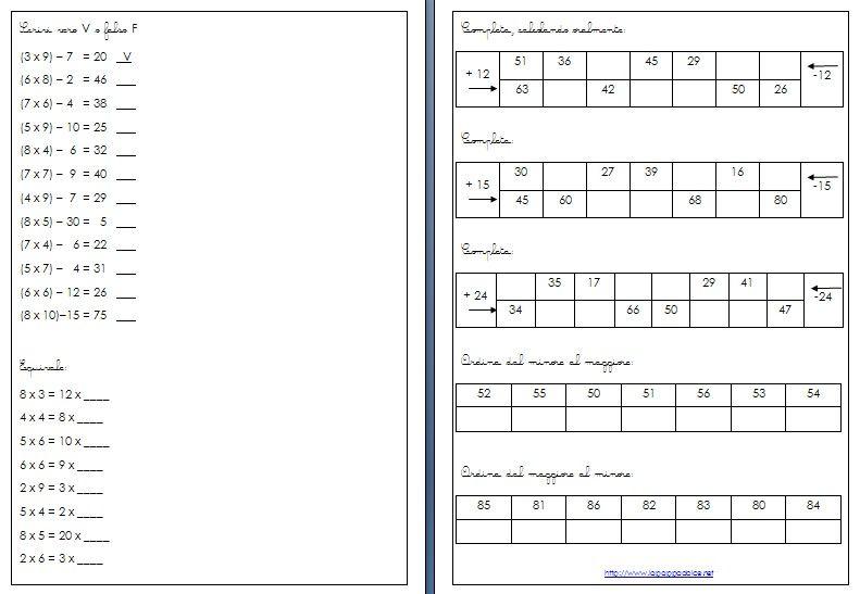 esercizi-di-matematica-classe-seconda-19 | Aritmetica ...