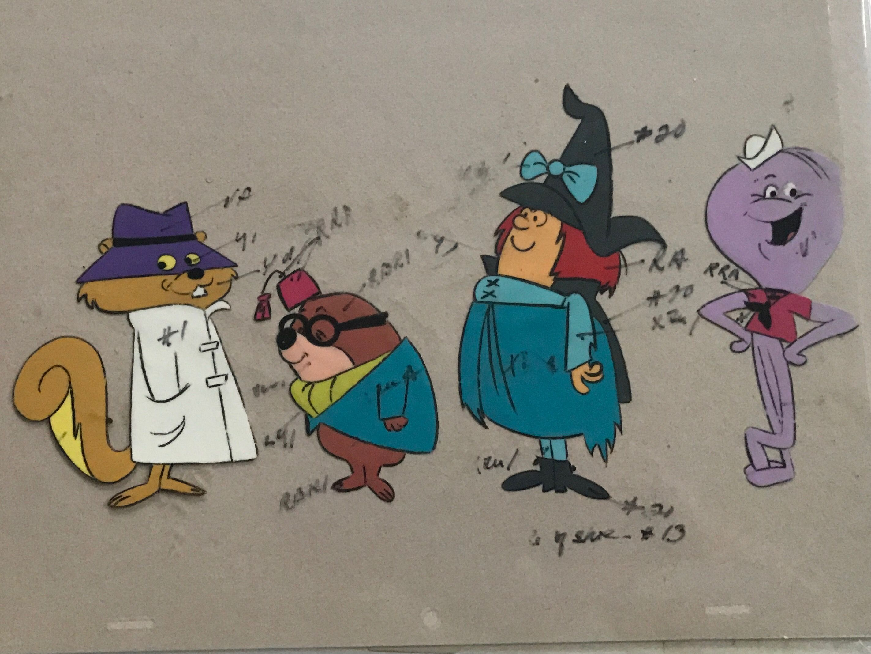 Hanna Barbera Model Sheet Animation Art Collection