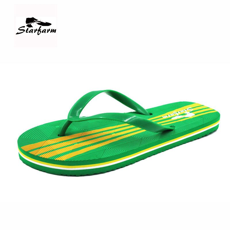 starfarm women s summer shoes in green flip flops sandals casual