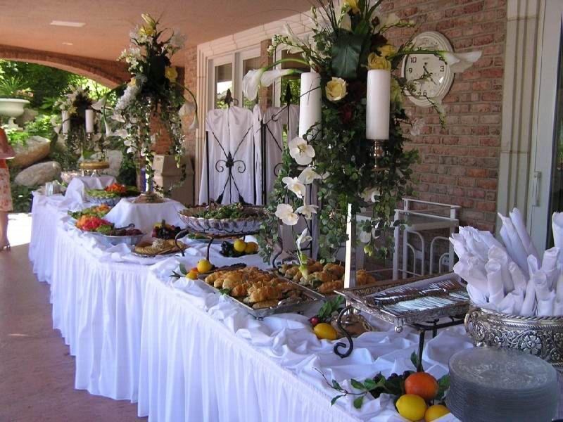 Breakfast buffet table decorating ideas deco buffet table breakfast buffet table decorating ideas watchthetrailerfo
