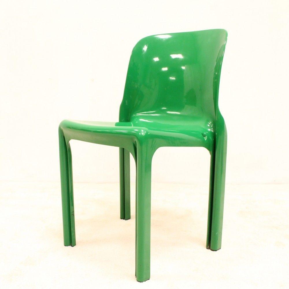 Located using retrostart.com > Selene Dinner Chair by Vico Magistretti for Artemide
