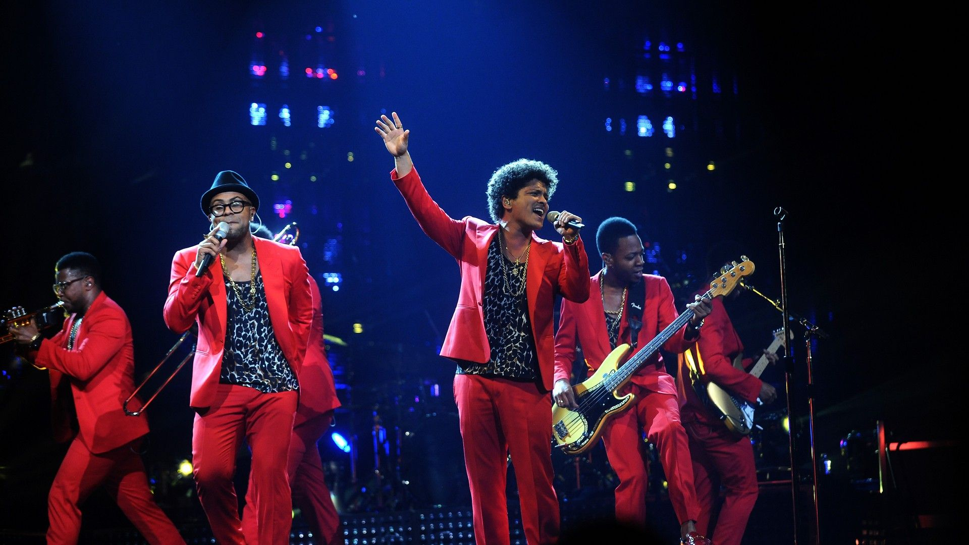 HD Bruno Mars Concert Wallpaper