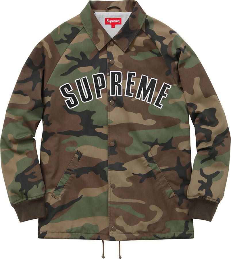 17a1ccd12547e Supreme Twill Coaches Jacket | Street fasion in 2019 | Jackets, Camo ...