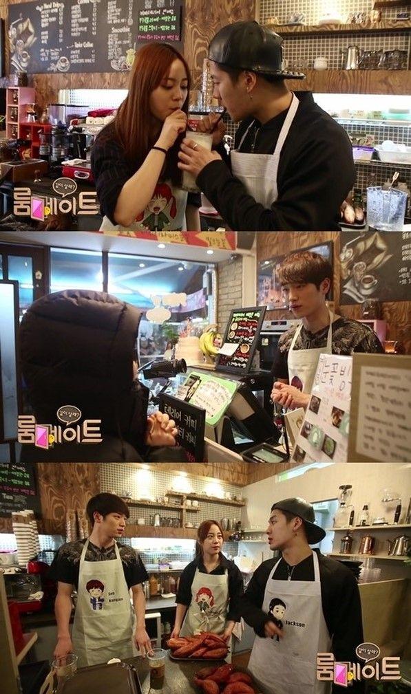 Jackson Youngji And Seo Kang Joon Experience Part Time Cafe Job