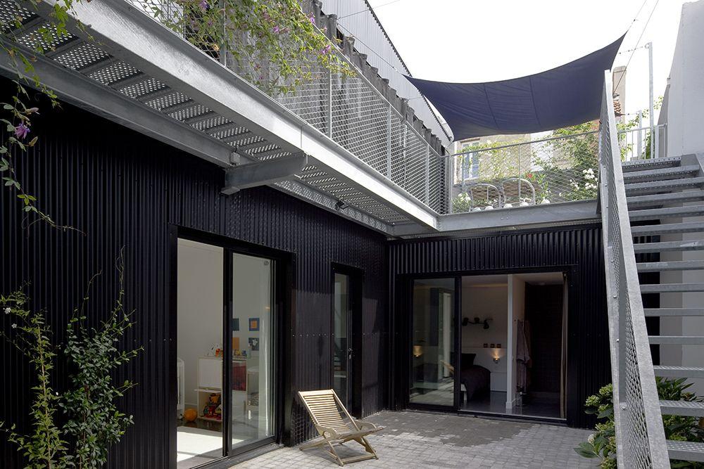 le projet est la transformation d un garage automobile en. Black Bedroom Furniture Sets. Home Design Ideas