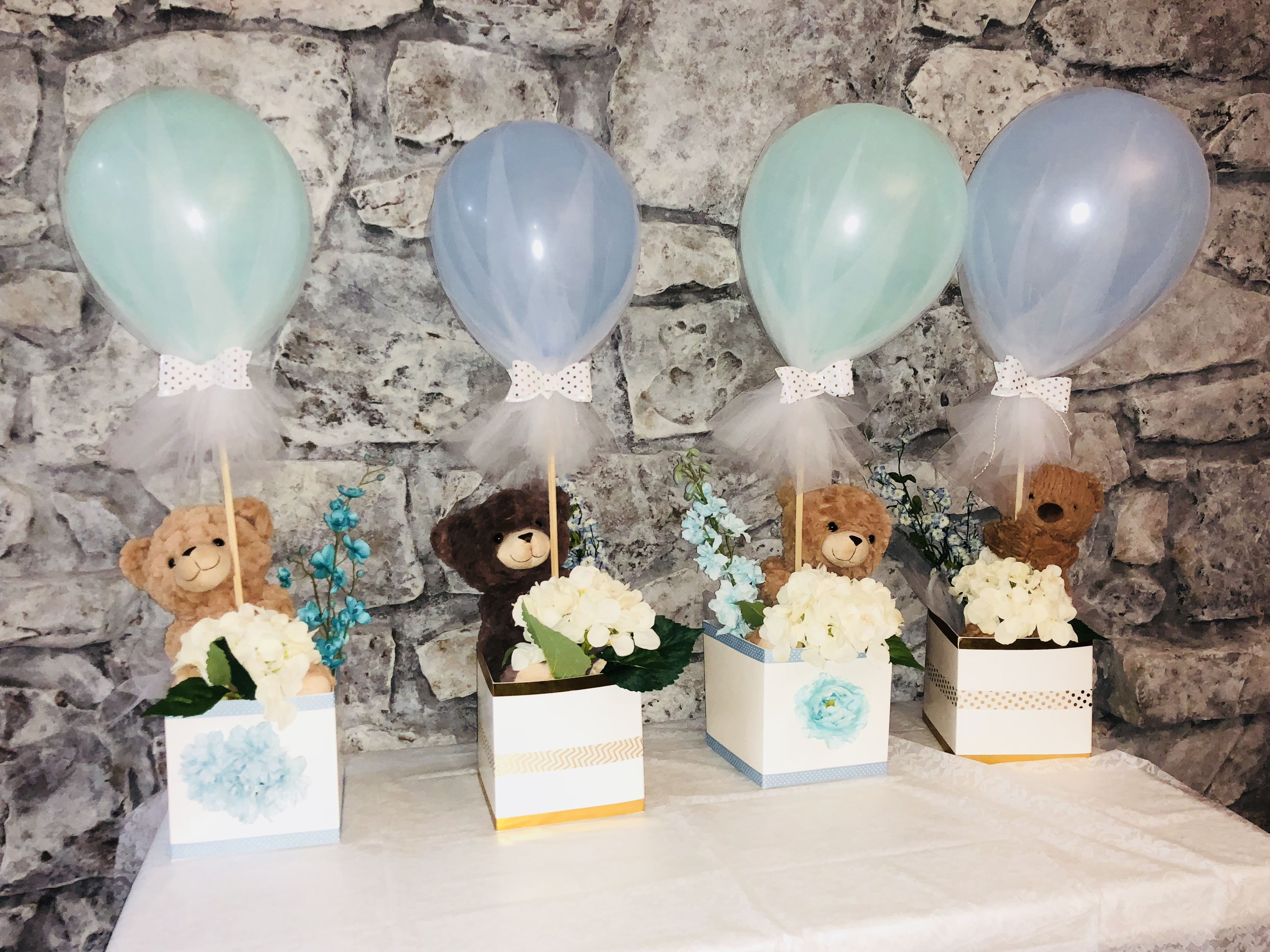 Bear Centerpieces For Baby Shower With Images Bear Baby Shower