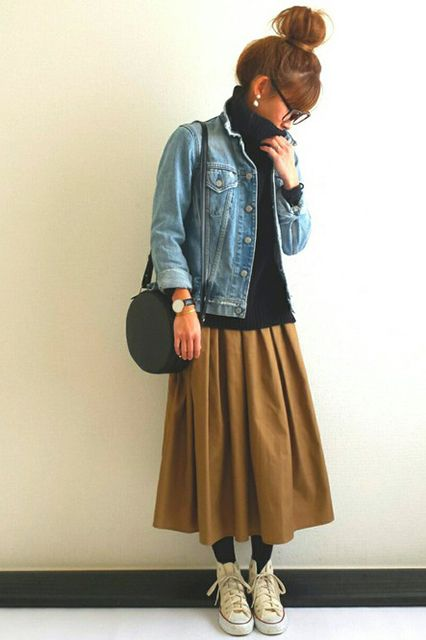 Japanese Street Style Proves That Oversized Is EVERYTHING
