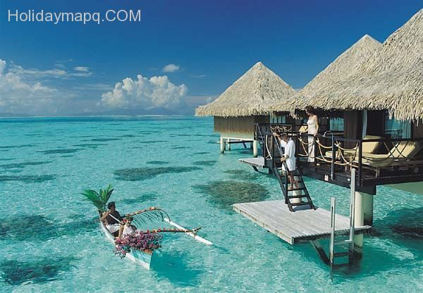 Cool Hawaii Vacation Packages All Inclusive Water Bungalow Hawaii Vacation Packages Vacation Places