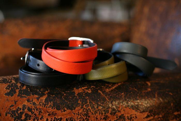 Samuji leather belts