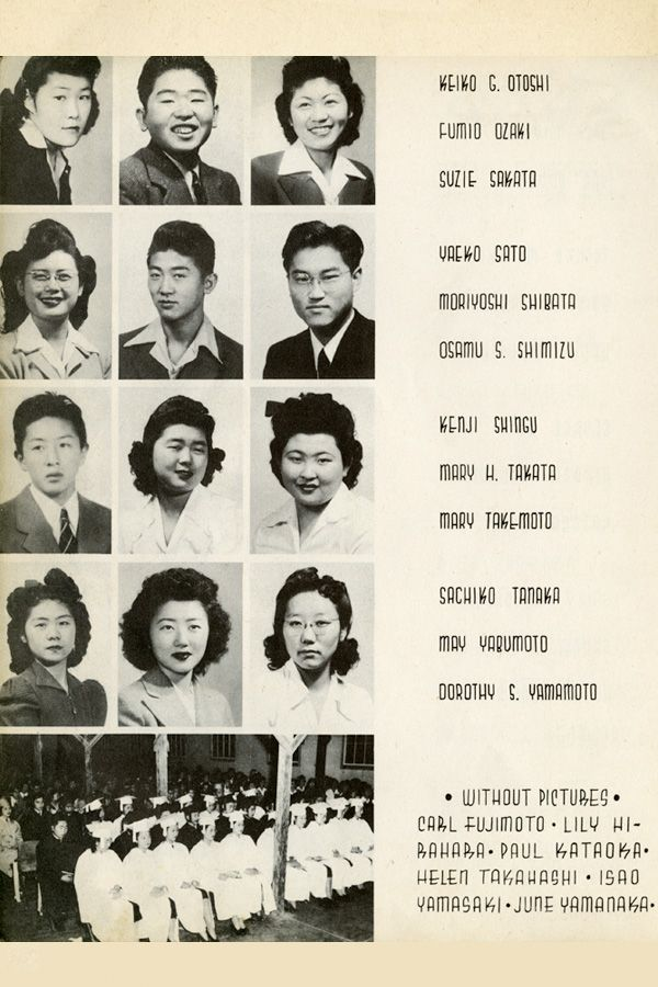 See You Next Year! High School Yearbooks from WWII  Rohwer Center - the resume center