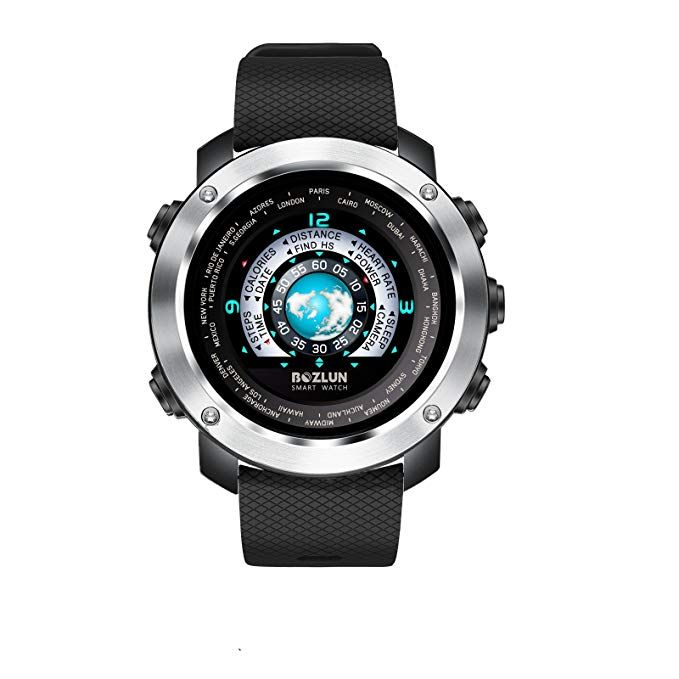 Fashion Men's Smart Watch for iPhone Android with Heart