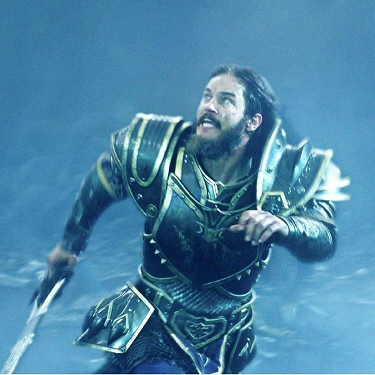 Travis Fimmel in Warcraft | pic from Empire Magazine