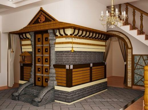 Outstanding Kerala Home Interior Designs Pooja Room Design