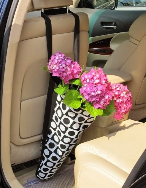 Mobile Flower Is A Reusable Flower Bouquet Carrier It Serves As A