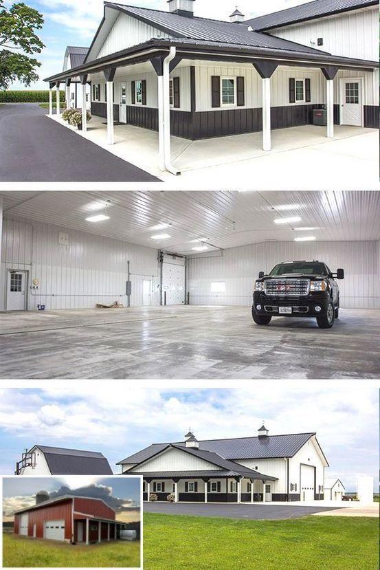 Info on floor plans for metal building homes metalbuildingshouse also rh pinterest
