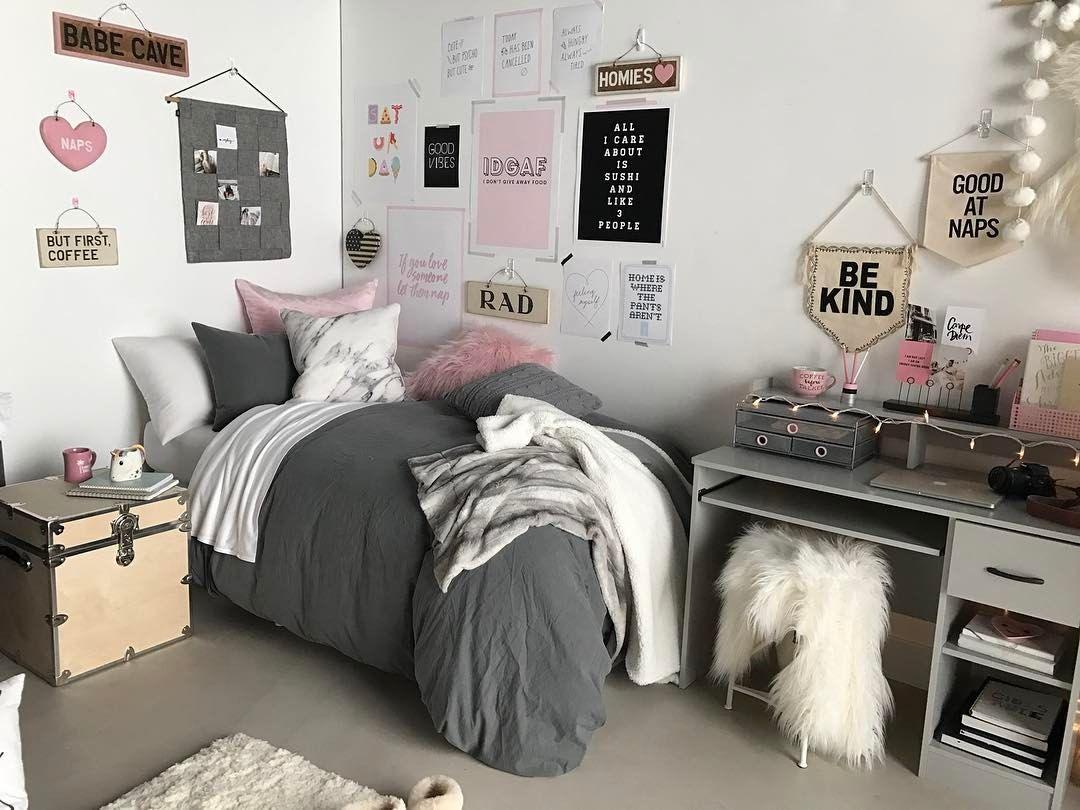 Pin de simya en college dorm pinterest dormitorio for Cuartos para ninas tumbler
