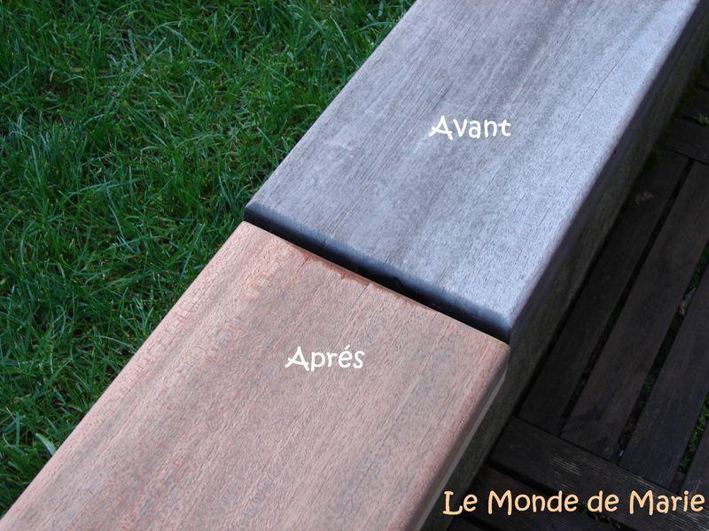 Rénover facilement les meuble d'extérieurs en bois exotiques ou en teck