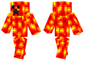 Minecraft Skins Lava Creeper Skin Png Image With Transparent Background Png Free Png Images Minecraft Skins Creepers Minecraft
