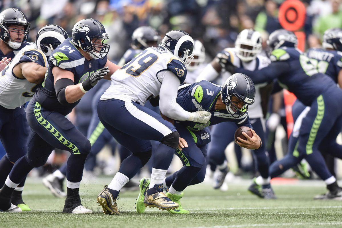 Los Angeles Rams Vs Seattle Seahawks Nfl Sunday Ticket Football Nfl Redzone Nfl