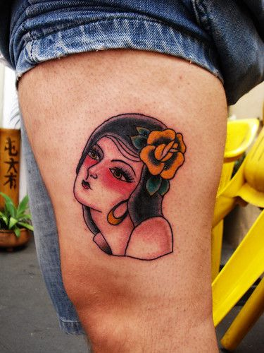 chica loca  Posted by Rodrigo Tattoos on 2012-03-06 16:04:15  Tagged:  tattoo  old school  tradicional  The post chica loca appeared first on Tattoos.