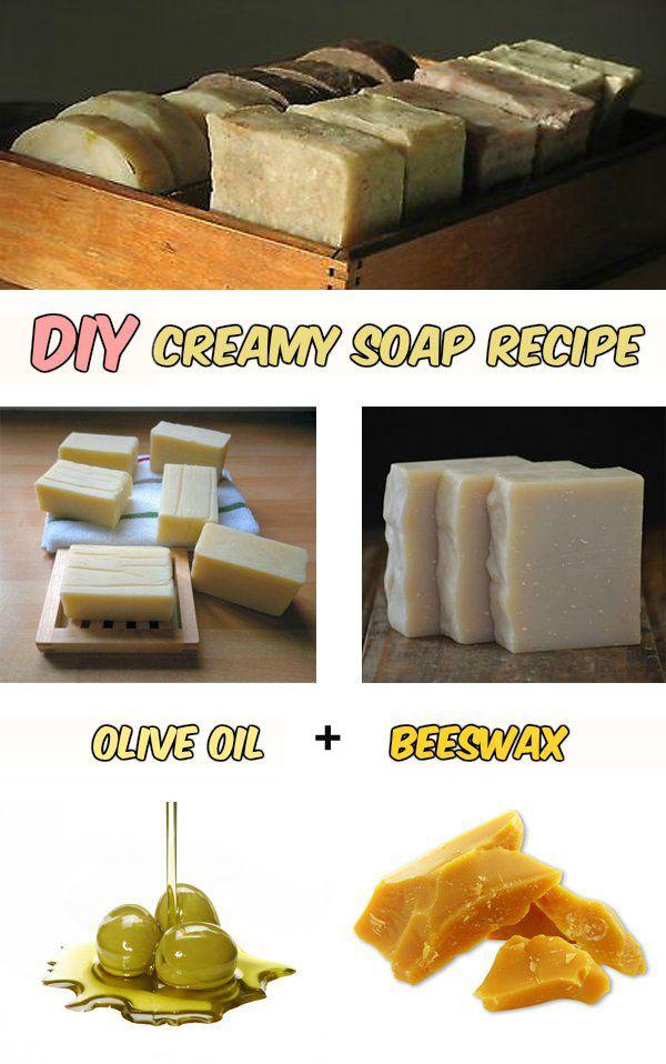 DIY: Creamy soap recipe